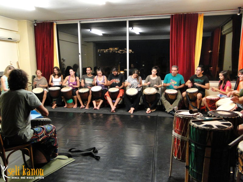 percussion workshop
